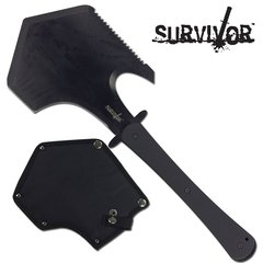 "Survivor Black 17"" Axe + Shovel"