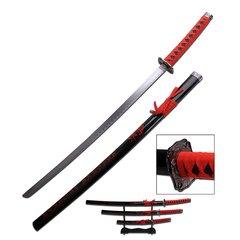 "Samurai ""Blade of Honor"" Katana, Wakizashi, Tanto Three Piece Set"