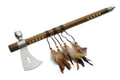 Indian Style Axe with Smoking Pipe