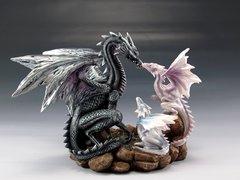 Dragon Family Figurine