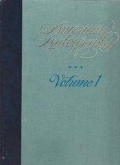 "Autograph Expert Charles Hamilton's Two-Volume Set ""American Autographs"""