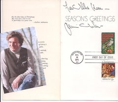 American Realist Painter James Browning Wyeth: Postal FDC, Beautiful Christmas Card, Stamps
