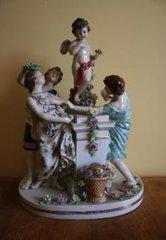 Multi-Figure Capo Di Monte Figurine