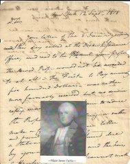 Major James Fairlie of New York, Aide-De-Camp to General Von Steuben--Post-War ALS to Secretary of State John Van Ness Yates