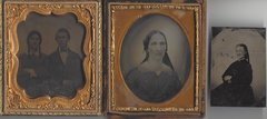 Early Ambrotype, Tintype Images Include Two with Identities