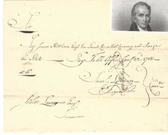Revolutionary War Date Pay Order Signed by Samuel Wyllys for James Hillhouse, Who Fought with Aaron Burr