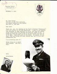 Daredevil Aviator Roscoe Turner Writes to Herbert Fisher of Beechcraft, King Air