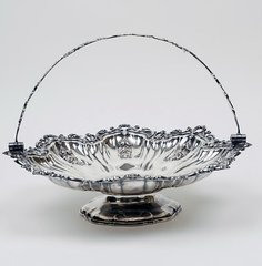 Victorian Sheffield Cake Basket, Extraordinary Design