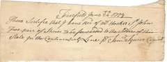 Samuel Squire Supplied Revolutionary War Soldiers with Shoes