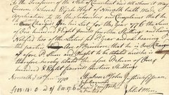1776 Revolutionary War Document Signed by Soldier, Notable David Comstock