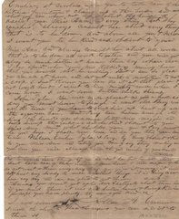 Historic Letter: Texas Confederate Writes to His Slaves with Instructions, Gratitude