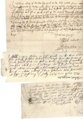14 Receipts from Historic Scottish Town of Kilsyth, Dating 1696-1708