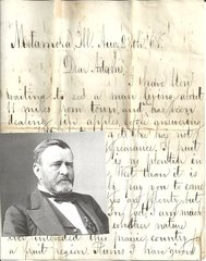 Anti-Ulysses S. Grant Letter: Whiskey Had Reduced Him, Tremors; Accidental Great Man