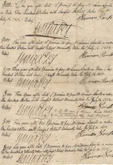 1812 Promissory Notes Signed by Albany Recorder John Van Ness Yates