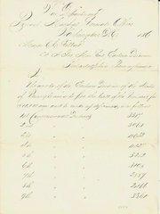 Civil War Document: Pennsylvania's Draft Quota to Serve Lincoln's Request