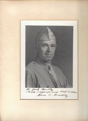 Five-Star General Omar Bradley, Army Chief of Staff, Inscribes Photograph to Jack Bentley