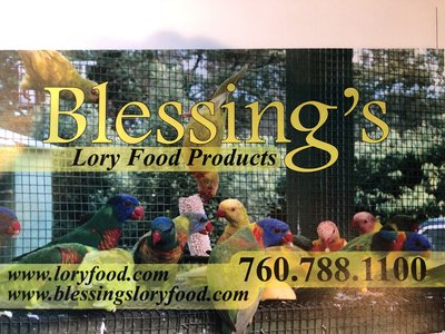 Blessing's Lory Food Products