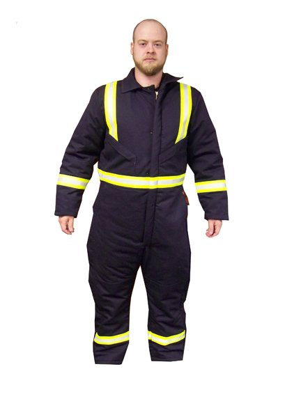 FR2308001 LINED COVERALL