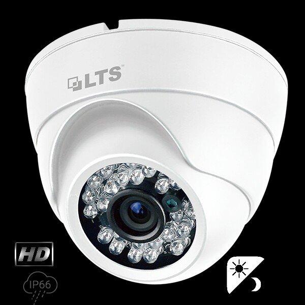 2.1 MP HD-TVI 24 IR LED Turret Camera