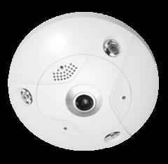 6MP HD 360-degree/hemispheric fisheye camera