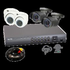 4 Camera (Gold) Security Bundle