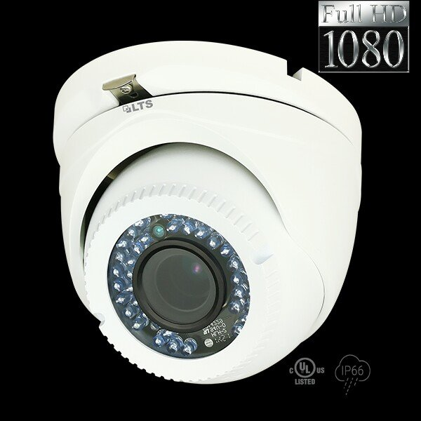 2.1 MP HD-TVI Varifocal 42IR LED Turret Camera