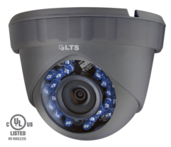1.3 MP High Definition Turret TVI Camera 24 IR LED
