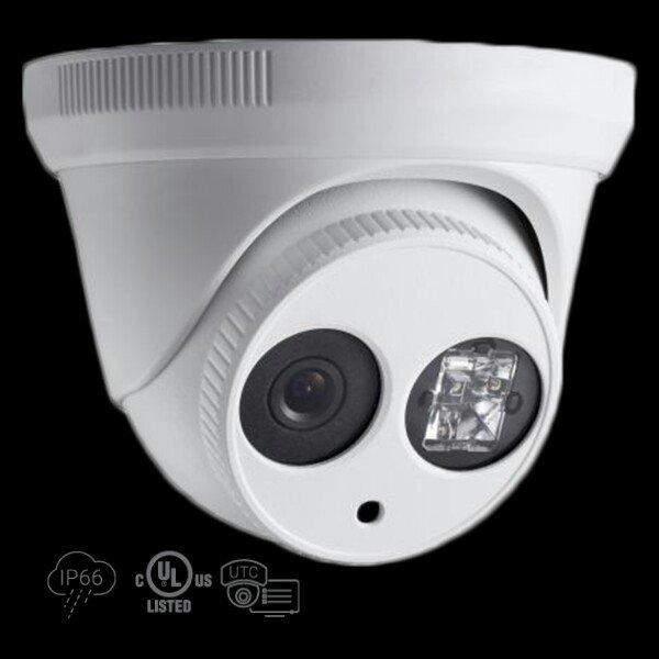 1.3 MP High Definition Turret TVI Camera Matrix IR LED