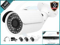 4 Channel Bullet AHD Surveillance Bundle