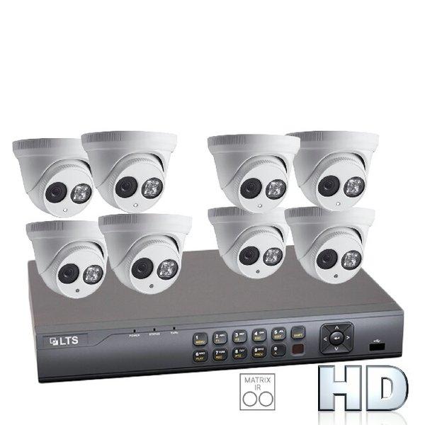 Eight 2.1MP Matrix IR Security Camera Bundle with Installation