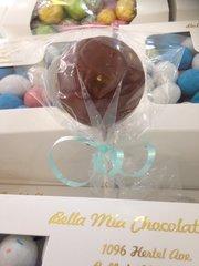 Chocolate Soccer Ball Lollipop