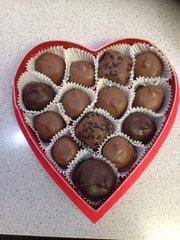 Heart Gift Box - Assorted Creams