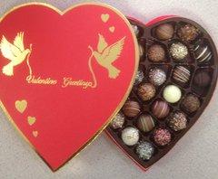 Heart Large Gift Box Truffles