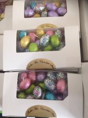 Chocolate Foiled Eggs 8oz