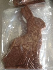 Easter Bunny Bark Filled Milk Chocolate