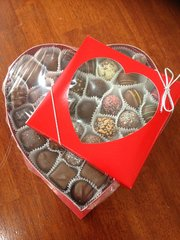 Heart Assortment and Truffles