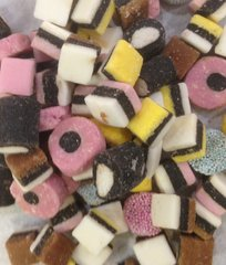 Gustaf's Mini Allsorts Licorice