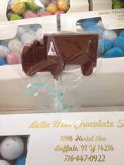 Chocolate Truck Lollipop