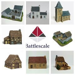 8 - Piece Rural Buildings Set