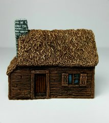(10B003) Thatched Timber-clad Cottage