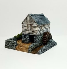 Small Rural Water Mill (6mm)