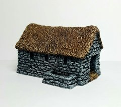 (10B013) Thatched Cattle Byre