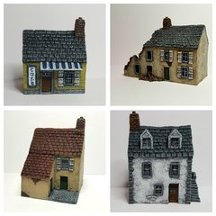 4-Piece European Buildings Set