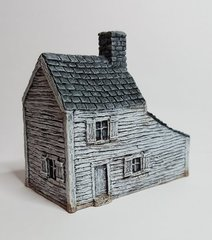 BB : (10B010) Clapboard Farmhouse with Carriage Shed.