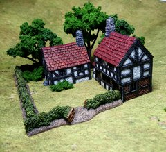 Timber Framed Houses Pack (2 x items)
