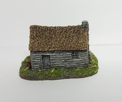 (6B015) Thatched Timber Shacks (pack of 3)