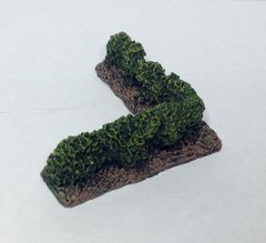 6mm / 10mm Hedgerow Corner Sections ( pack of 4 painted )
