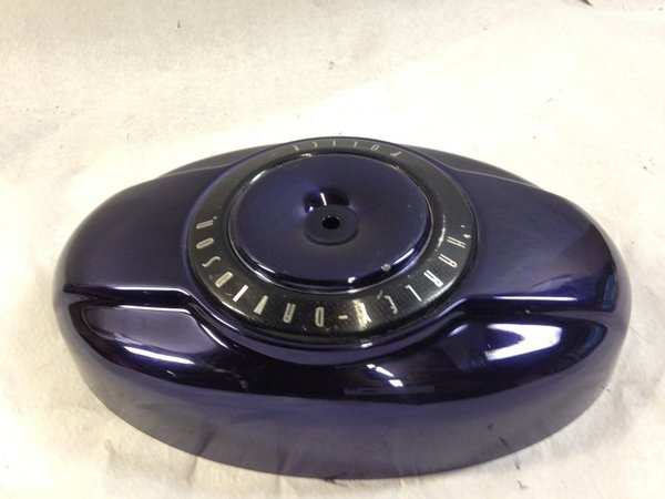 Harley Police Twin Cam Purple Flhrp Flhtp Fxdp Air Cleaner