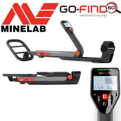 """Minelab GO-FIND 60 Metal Detector with 10"""" Waterproof Search Coil"""