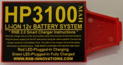 RnB Innovations HP-3100 Whites Battery Pack & Home Charger